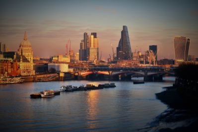 London City finance hub, capital forex election