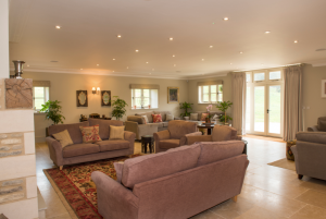 lounge, sofas, cotswold park barns, travel, cotswolds