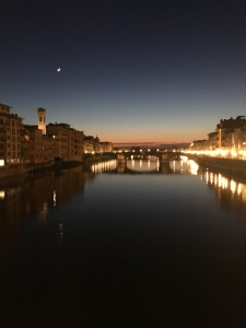 View from Ponte Vecchio, Florence, Travel