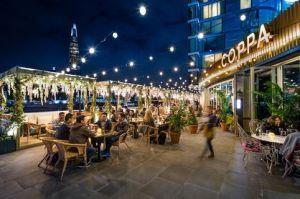 fairylights at neverland bar, fulham, wandsworth bridge, london